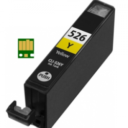 Canon CLI-526 Yellow met chip (huismerk)