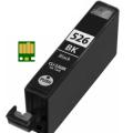 Eetbare inkt Canon CLI-526 Zwart met chip (huismerk)