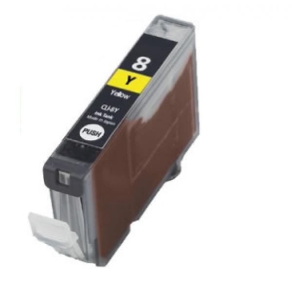 Eetbare inkt Canon CLI-8 Yellow met chip (huismerk)