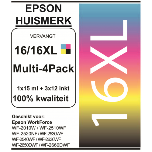Epson 1636 XL set cartridge (huismerk)