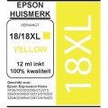 Epson 1814 XL Yellow cartridge (huismerk)