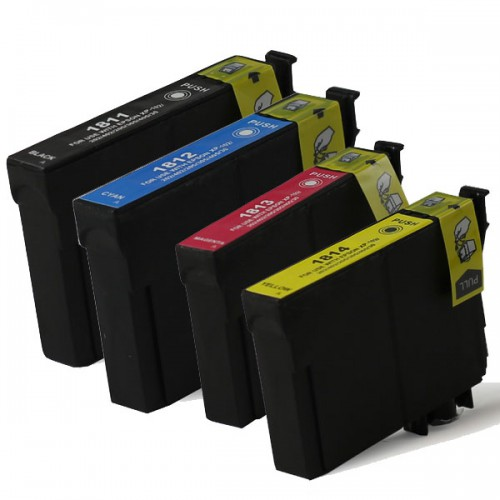 Epson 1816 XL (Multi-4 PAck) cartridges (huismerk)