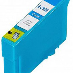 Epson 2992 cyan cartridge (huismerk)