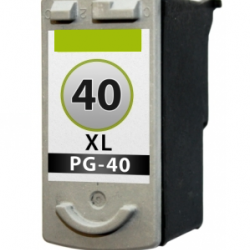 Canon 40 Zwart cartridge (huismerk)