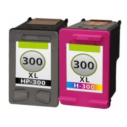 HP 300 XL DUO-PACK (zwart+kleur) cartridges (huismerk)