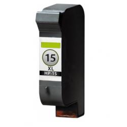 HP 15 Zwart cartridge (huismerk)