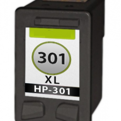 HP 301XL Zwart cartridge (huismerk)