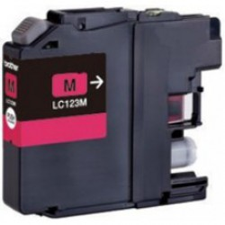 Brother LC-123 XL Magenta (huismerk)
