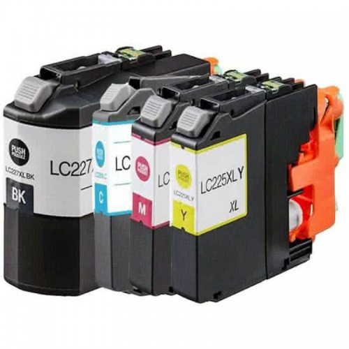 Brother LC-225 XL+227 XL  (4-Pack) (huismerk)