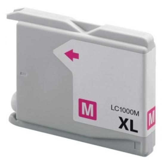 Brother LC-1000 Magenta (huismerk)