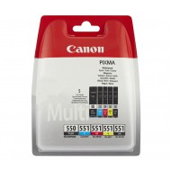 Canon PGI-550 + CLI-551 Multi-5 Pack cartridges (ORIGINEEL)