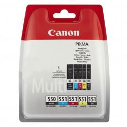 Canon PGI-550 + CLI-551 Multi-5 Pack cartridges (ORIGINEEL)