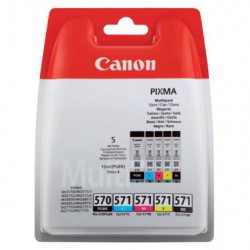 Canon Origineel PGI 570 + CLI 571 Multi-5 Pack inktcartridge