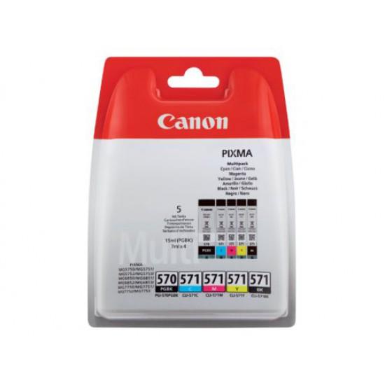 Canon Origineel PGI 570 + CLI 571 Multi-5 Pack inktcartridge