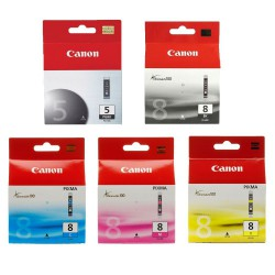 Canon PGI-5BK + CLI-8 (Multi-5 Pack) ORIGINEEL