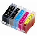 Canon PGI-520 + CLI-521 cartridges (Multi-5 Pack) met chip (huismerk)