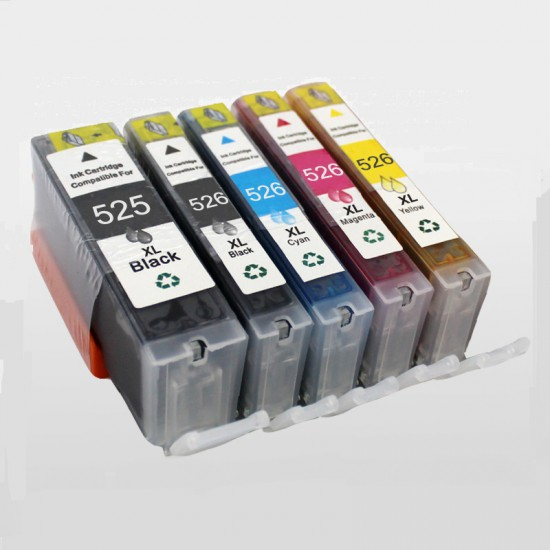 Canon PGI-525 + CLI-526 (Multi-5 Pack) cartridges (huismerk)