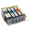 Canon 2x 570 XL + 571 XL cartridges (2 sets huismerk)
