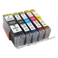 Canon PGI-550 XL + CLI-551 XL (Multi 5-Pack) cartridge (huismerk)