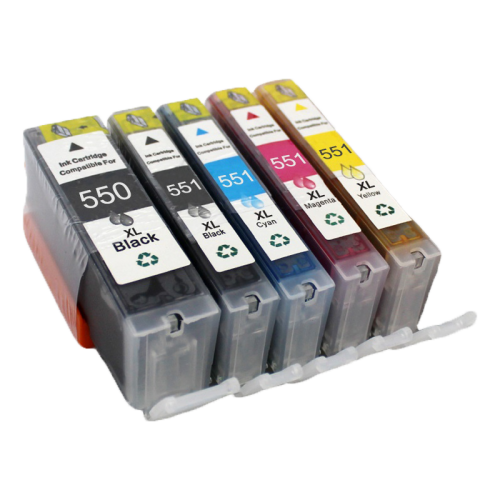 Canon PGI-550 XL + CLI-551 XL (5-Pack) cartridge (huismerk)