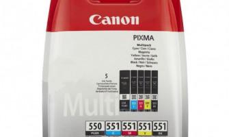 Canon 550 Origineel Set