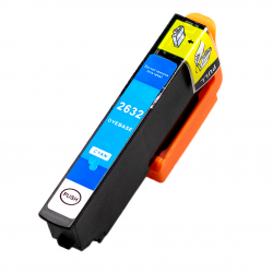 Epson 2632 XL Cyaan cartridge (huismerk)