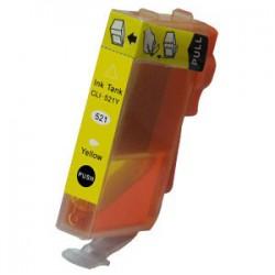 Canon CLI-521 Yellow met chip (huismerk)
