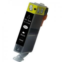 Canon CLI-521 Zwart met chip (huismerk)