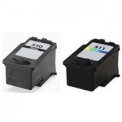 Canon PG-510XL+CLI511XL cartridges (huismerk)