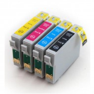 Epson 715 (Multi-4 Pack) cartridges (huismerk)