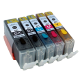Eetbare inkt Canon PGI-520 + CLI-521 cartridges (Multi-5 Pack) met chip