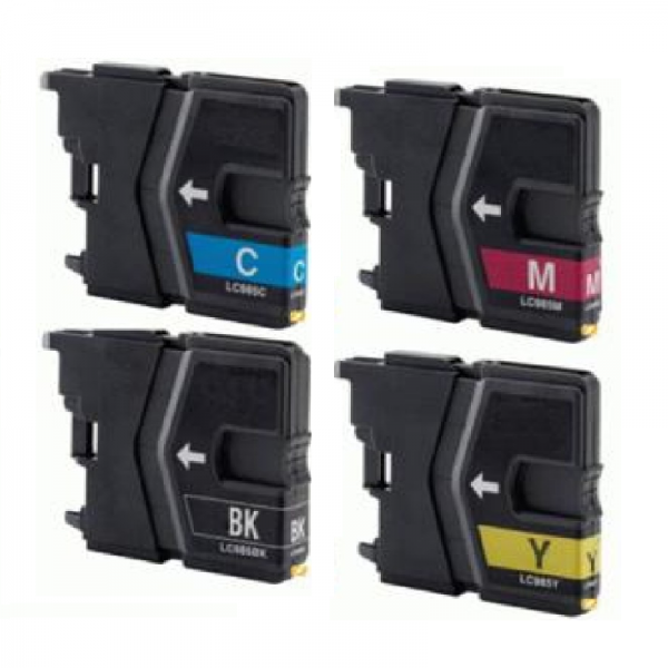 Brother LC-985 XL (4-Pack) (huismerk)